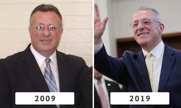 Fotos de los apóstoles al inicio y al final de la década