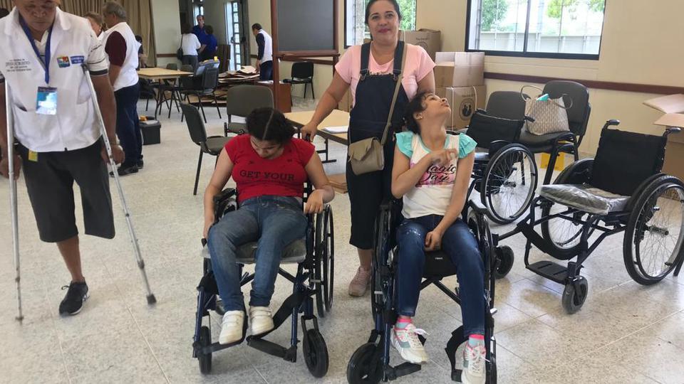 donación sillas de ruedas