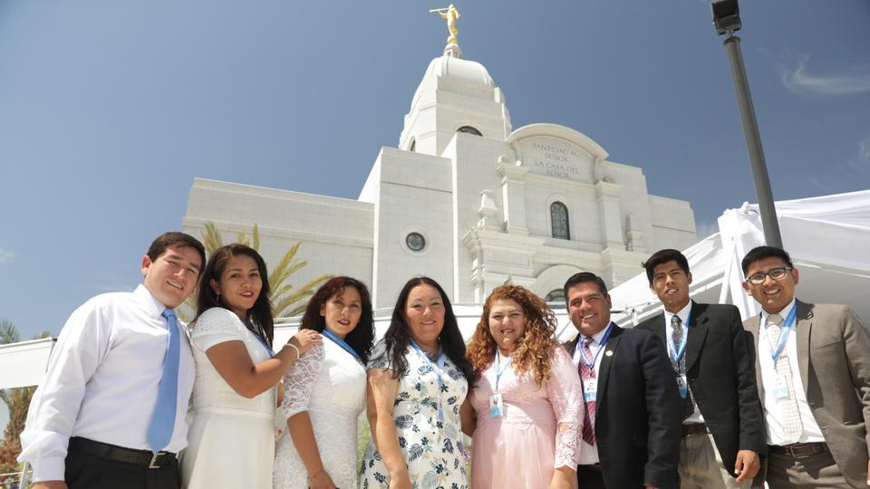 oración dedicatoria Templo de Arequipa