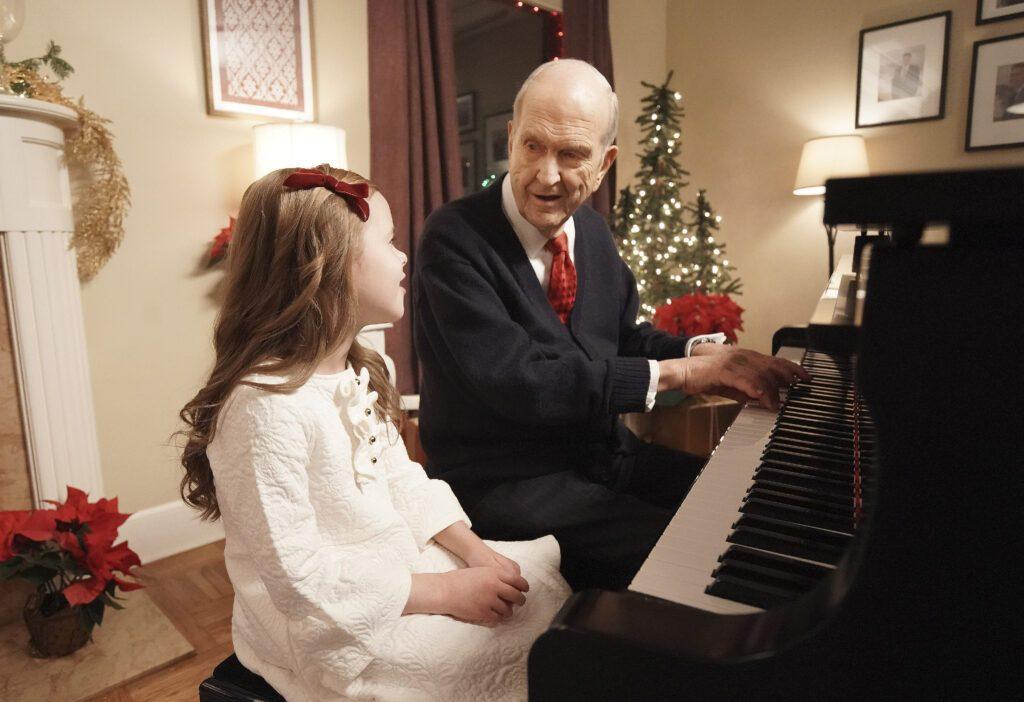 presidente Nelson y Claire
