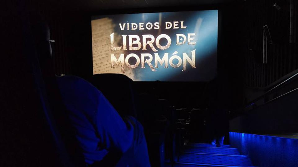 Los vídeos del Libro de Mormón llegan a las salas de cine en México