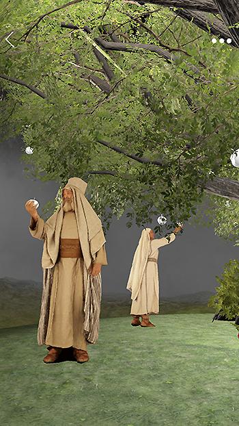 Árvore da vida - aplicação 3D