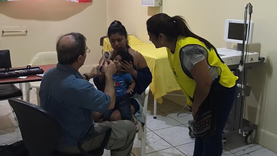 Manos que Ayudan en Ecuador