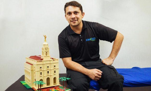 Se construye el Templo de Barranquilla, Colombia en versión Lego