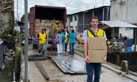 La Iglesia de Jesucristo envía donaciones para los damnificados en Colombia