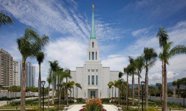 Se anuncia fechas para la jornada de puertas abiertas y dedicación del Templo en Río de Janeiro, Brasil