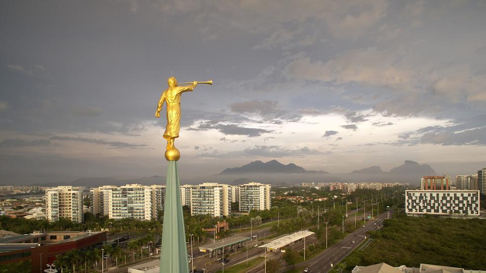 Templo de Río de Janeiro, Brasil