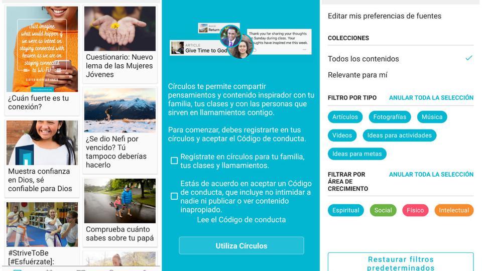 Vivir el Evangelio - nueva app