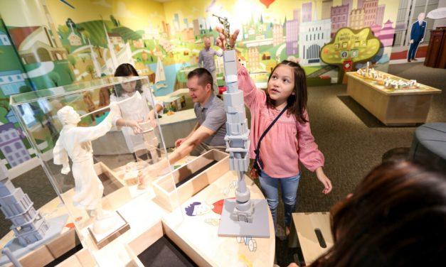 Conoce la nueva exhibición infantil sobre los templos en el Museo de historia de la Iglesia de Jesucristo