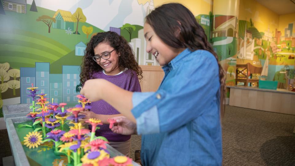 exhibición para niños sobre los templos