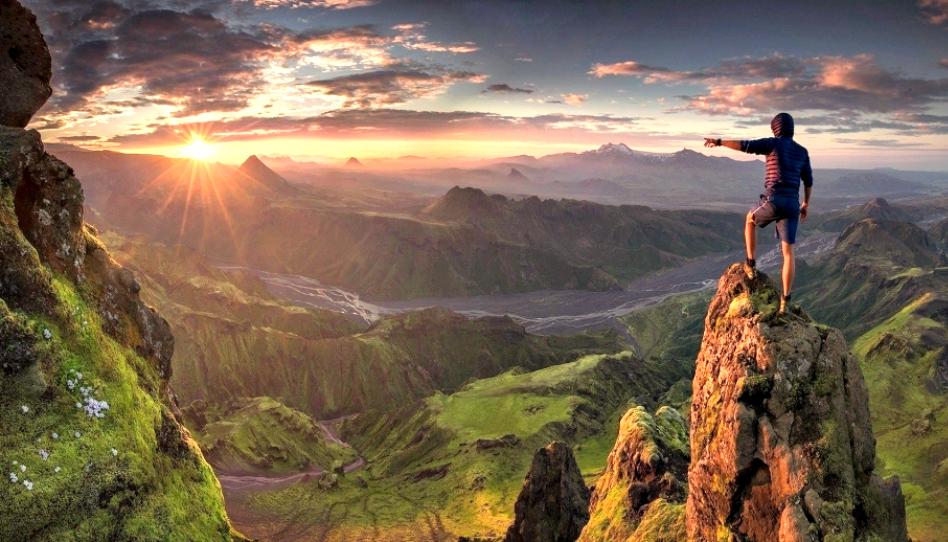 Los altibajos de la vida nos conducen a los escenarios más hermosos