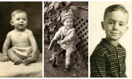 ¡Paremos todo! Aquí algunas fotos de los apóstoles cuando eran bebés