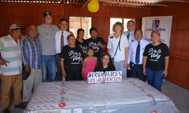 La Iglesia de Jesucristo entrega casas prefabricadas en Perú