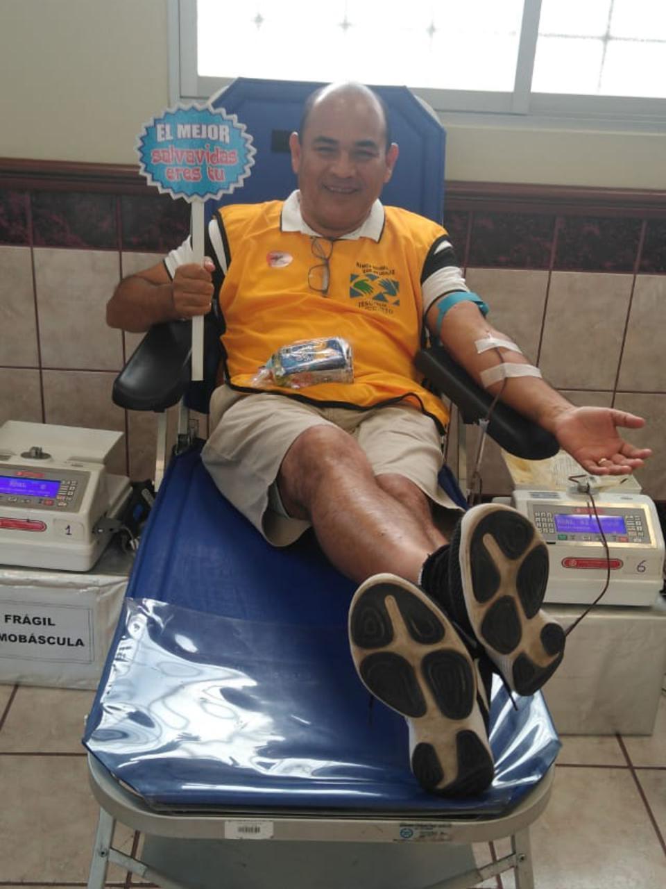 donación de sangre para niños enfermos