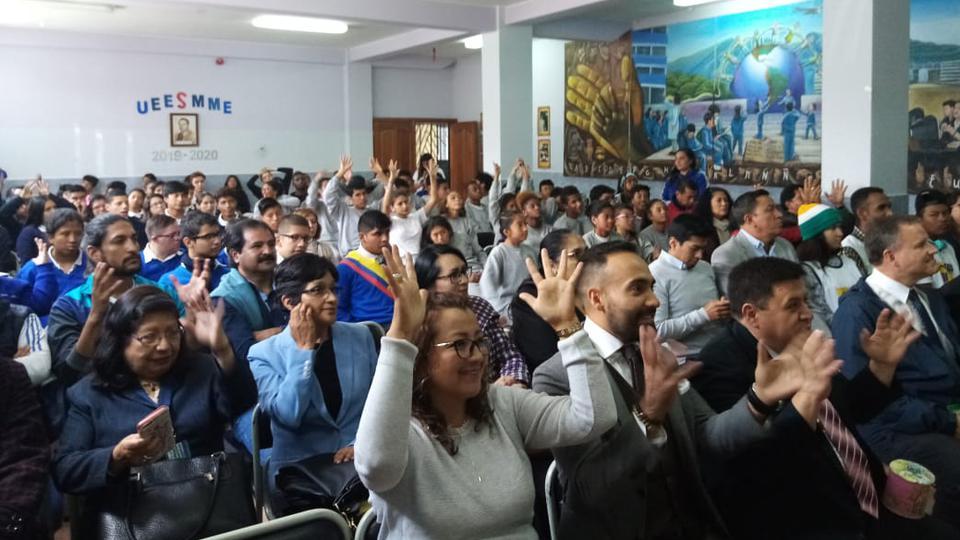 donación niños especiales en Ecuador