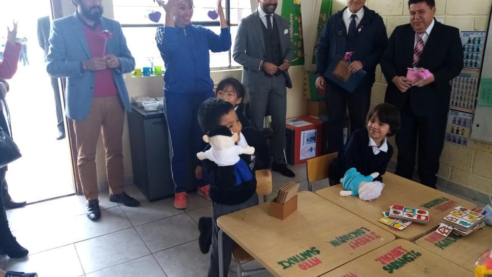 xdonación niños especiales en Ecuador