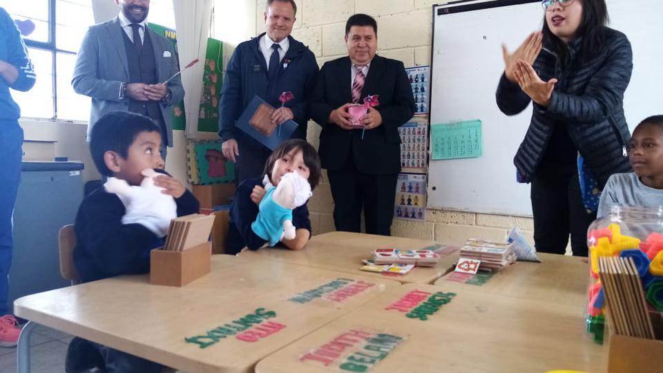 La Iglesia de Jesucristo contribuye con la educación de niños especiales en Ecuador