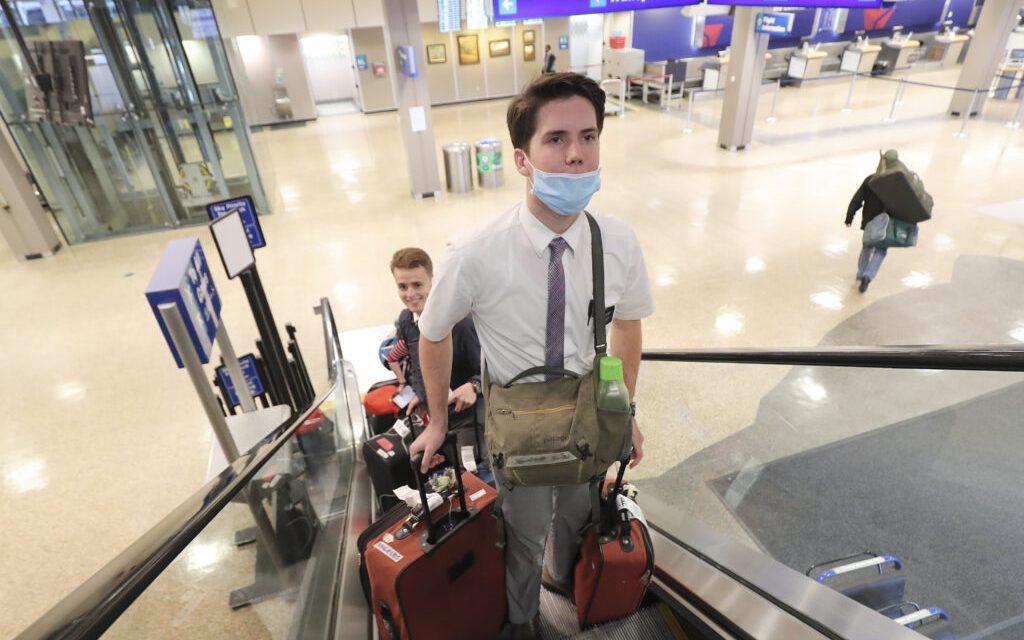 Estas son las pautas para los misioneros que regresarán a casa debido al coronavirus
