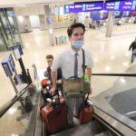 misioneros regresan a casa.