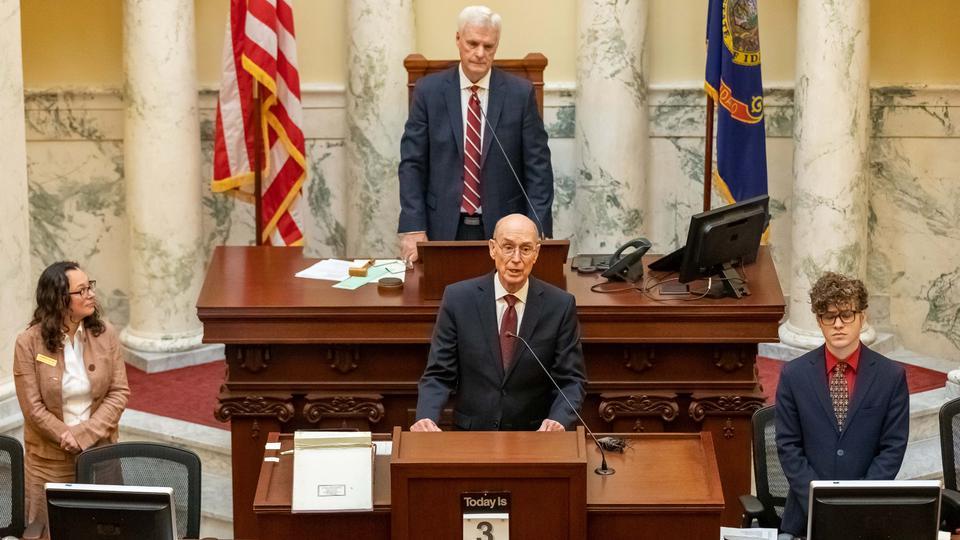 presidente Eyring en Idaho