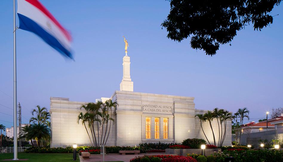 Se cierra el Templo de Asunción, Paraguay y otros 4 templos debido al coronavirus