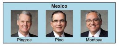 Nueva presidencia de Area en México