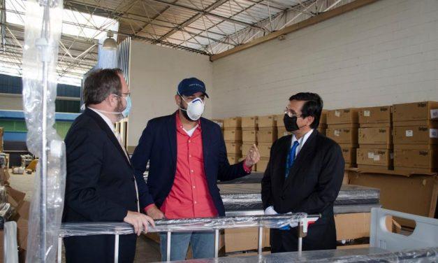 La Iglesia de Jesucristo dona camillas para pacientes con COVID-19 en El Salvador