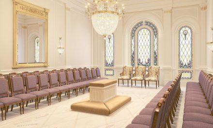 Se presenta el diseño interior del Templo de Tooele Valley, Utah