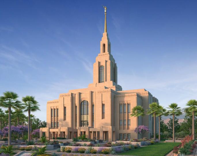 Templo de Washington County, Utah