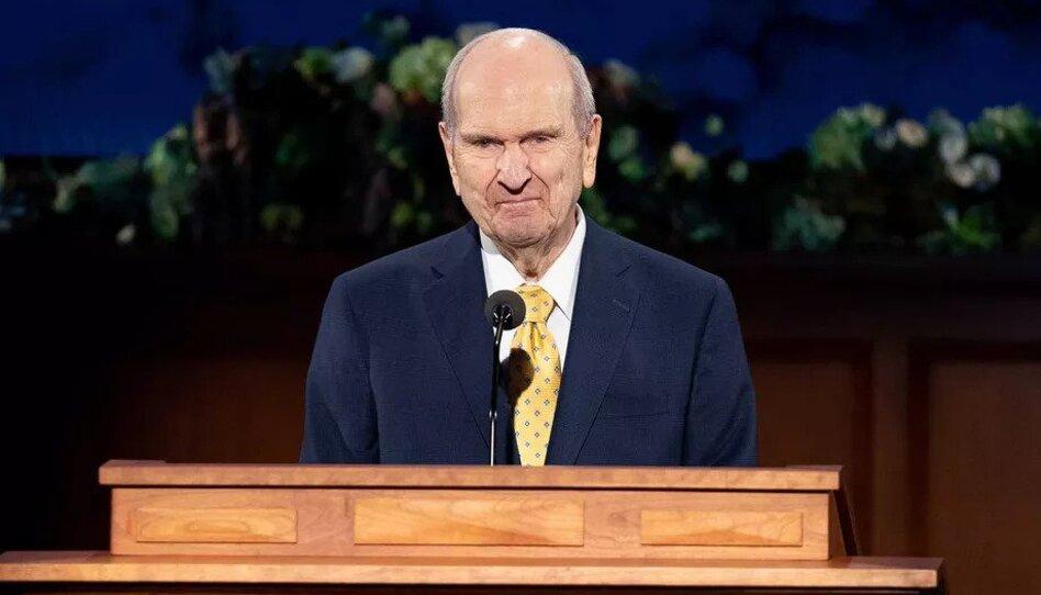 ¿Por qué el presidente Nelson anunció un nuevo símbolo de la Iglesia durante la Conferencia General?