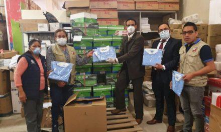 La Iglesia de Jesucristo dona material de protección para los médicos en Guatemala