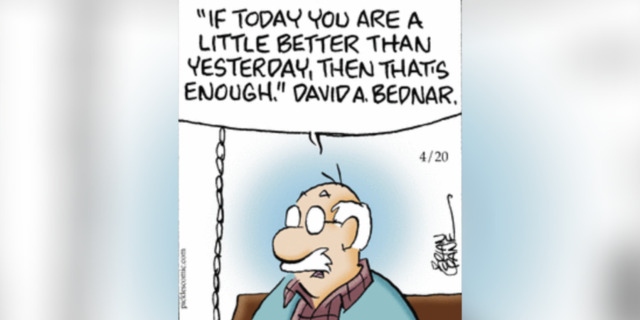 élder Bednar comic