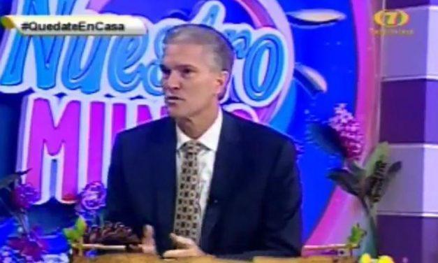 Élder Taylor ofrece mensaje de paz y esperanza en televisión guatemalteca