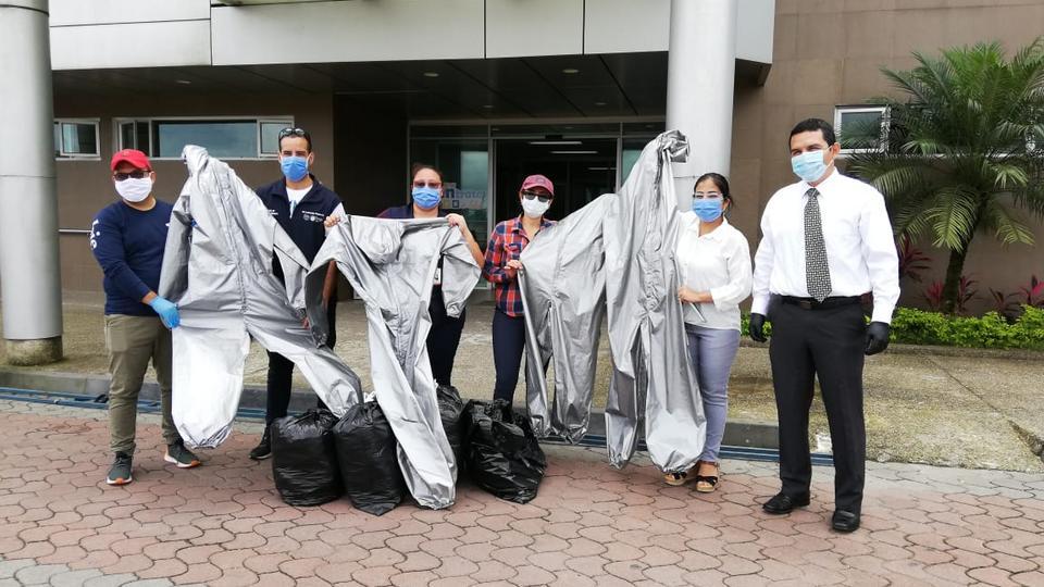 equipo de protección para médicos