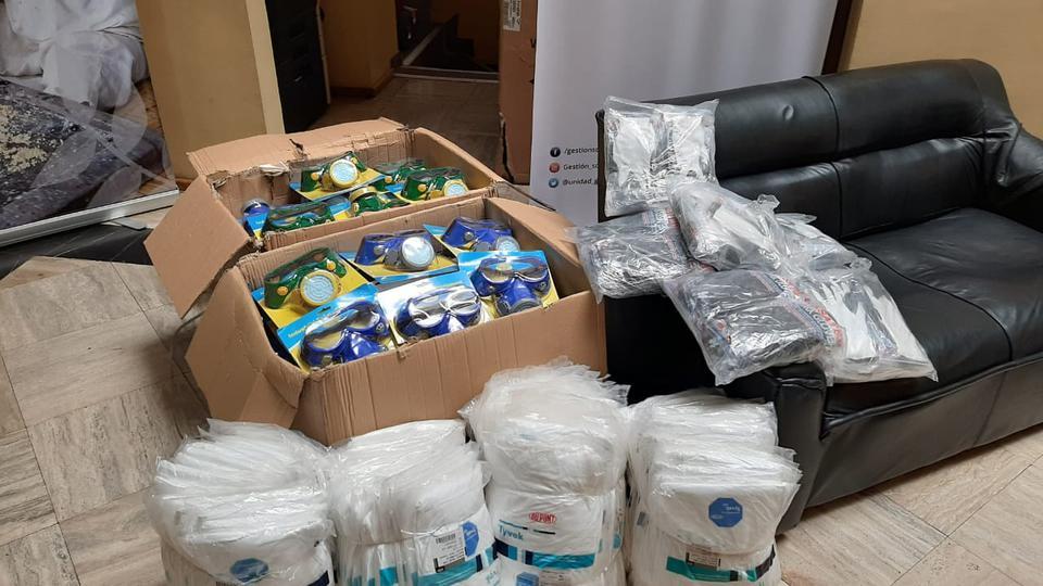 equipos de fumigación - donación
