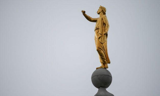 Retirarán la estatua del ángel Moroni del Templo de Salt Lake City