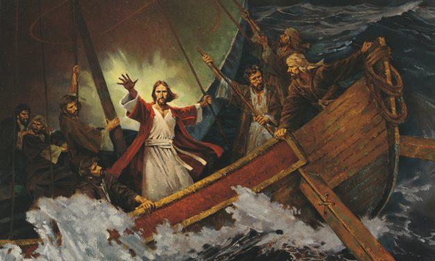 Él calmó tempestades y puede calmar esta pandemia si no pierdes la fe