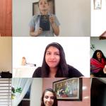 video animando a los misioneros