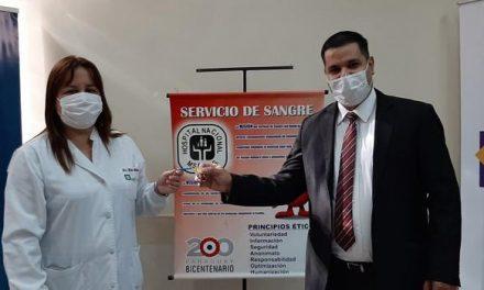 La Iglesia de Jesucristo facilita centro de reunión para el Ministerio de Salud en Paraguay