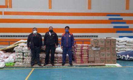 La Iglesia de Jesucristo realiza otra donación de alimentos en Perú