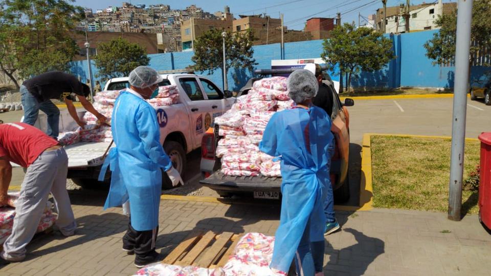 La Iglesia de Jesucristo dona 1000 kits de alimentos y 500 equipos de bioseguridad en Perú