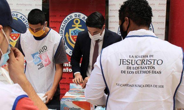 La Iglesia de Jesucristo en Chile dona más de 100 mil dólares debido al COVID-19