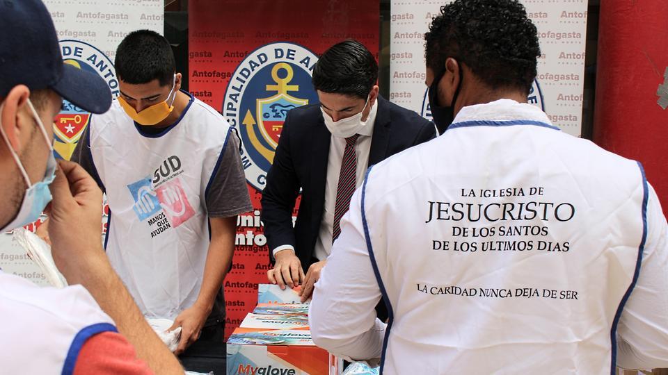 La Iglesia de Jesucristo en Chile - donaciones