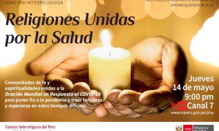 Religiones Unidas por la Salud: Comunidades de fe oran juntas en Perú por alivio del COVID-19