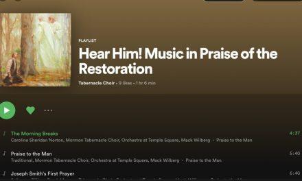 El Coro del Tabernáculo lanza playlist sobre la Restauración en Spotify y Youtube
