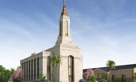 Este será el diseño del Templo de Okinawa, Japón
