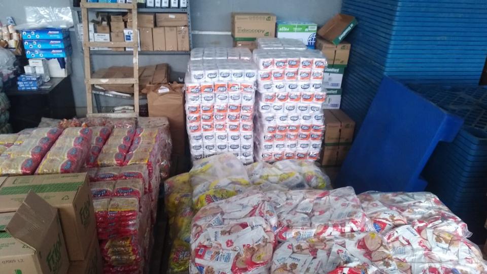 alimentos y equipos de bioseguridad