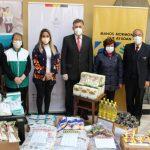 doanción equipos de bioseguridad y alimentos