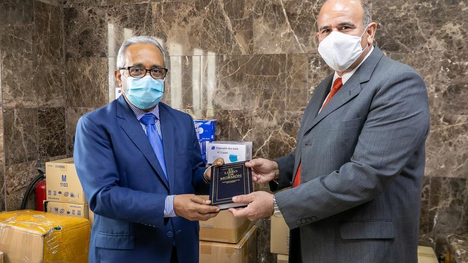 donación al Ministerio de Salud en RD