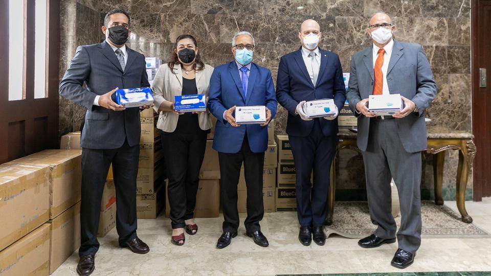 La Iglesia de Jesucristo entrega importante donación al Ministerio de Salud en República Dominicana